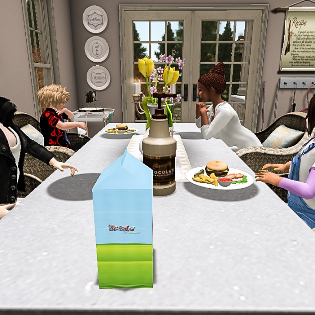 Eating together, as a family