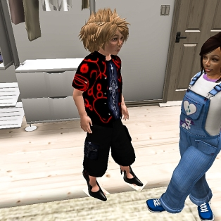 Timmy and Taelor up to something