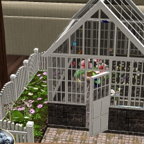 Miniature butterfly house