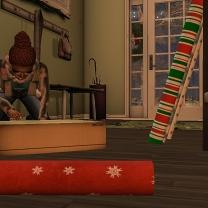 Santa's little elf - me