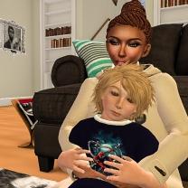 Me and my nephew Timmy