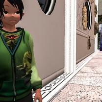 Nobu-san gets a dino jacket