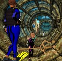 The underwater lab