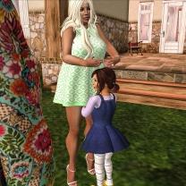 Greeting sissy