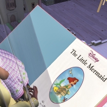 Reading the little mermaid