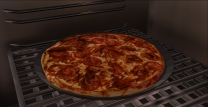 Pizza is done
