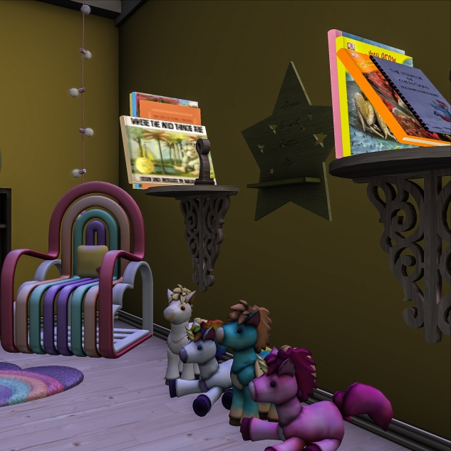 Taelor's Books on his shelf