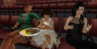 Eating Sandwiches at the Cinema