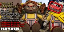 Bay City Dolls Advert - Hayden