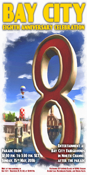 Bay City 8th Anniversary Celebration (Texture)